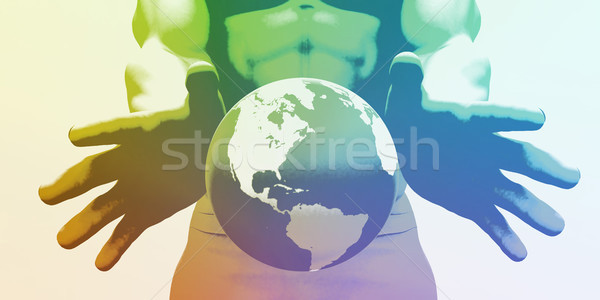 Global Network Stock photo © kentoh