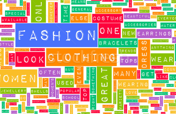 Fashion Industry Stock photo © kentoh