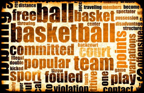 Basketball Stock photo © kentoh