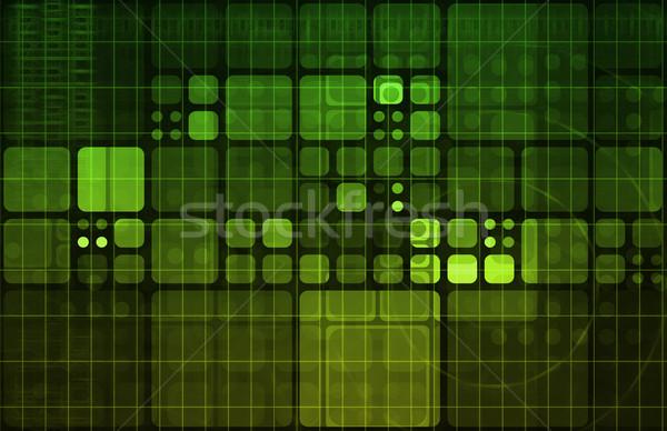Информационные технологии бизнеса интернет аннотация медицинской свет Сток-фото © kentoh