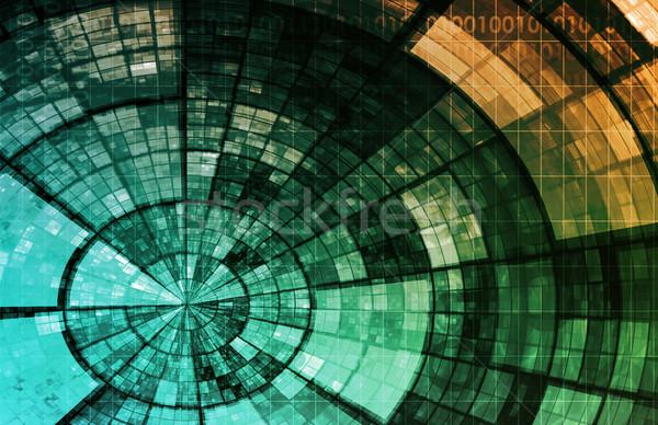 Stock photo: Information System