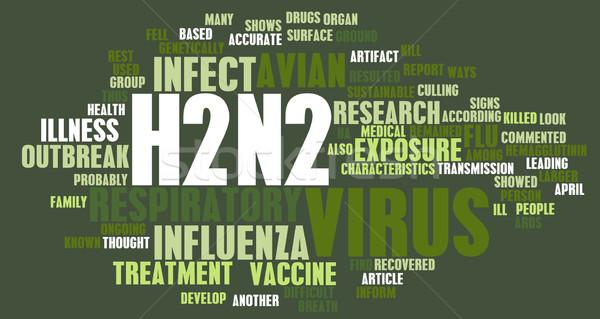 Stock photo: H2N2