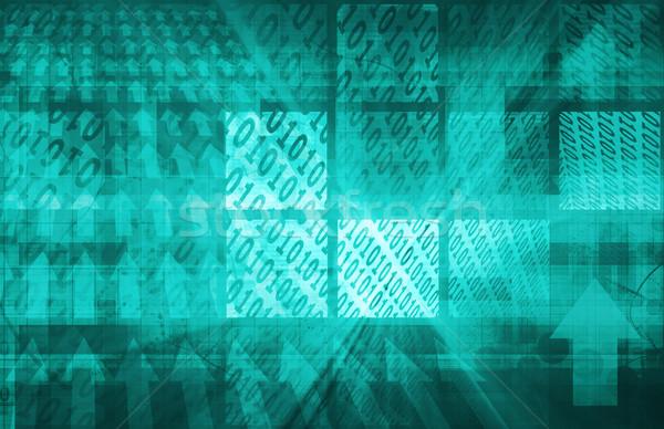 Stock fotó: Bináris · kód · számítógép · textúra · absztrakt · fény · terv