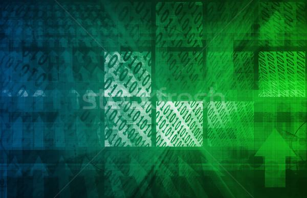 Spyware сеть личные данные информации интернет Сток-фото © kentoh