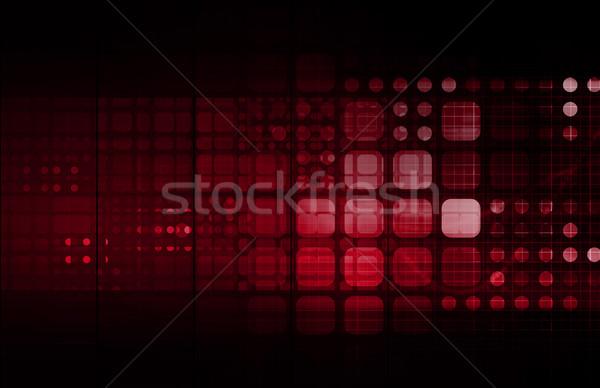 медицинской исследований корпоративного технологий бизнеса фон Сток-фото © kentoh