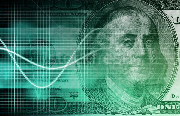 потребитель данные экономики анализ искусства фон Сток-фото © kentoh