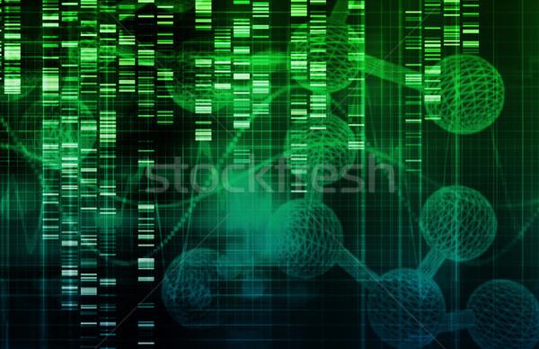 стебель ячейку исследований развития здоровья фон Сток-фото © kentoh