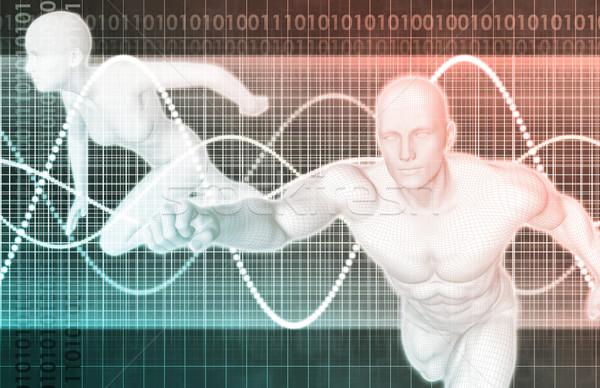 Stock fotó: Sport · fitnessz · kiegészítők · előadás · orvosi · egészség