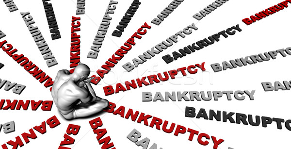 Bankruptcy Stock photo © kentoh
