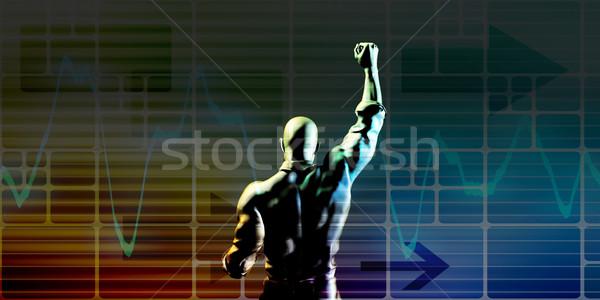 Achieve Success Stock photo © kentoh
