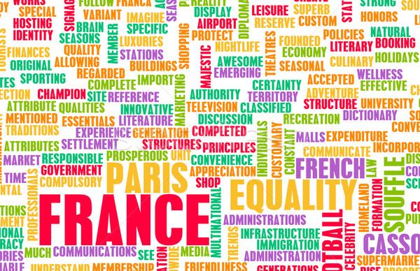 France pays résumé art affaires vin Photo stock © kentoh