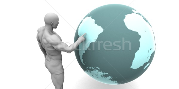 Business Expansion into South America  Stock photo © kentoh