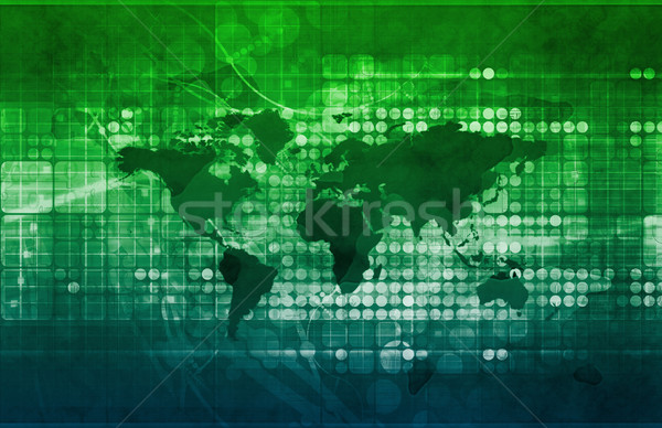 International Trade Treaties Stock photo © kentoh