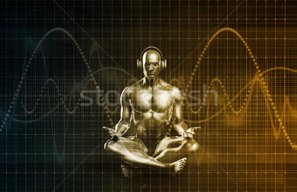 Immersive Music Stock photo © kentoh