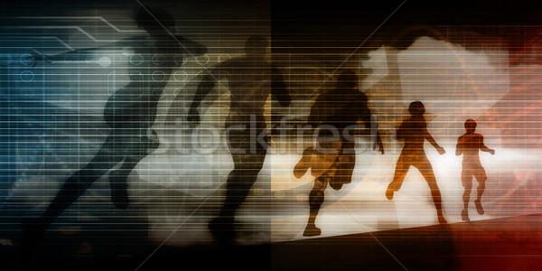 Photo stock: Performances · gestion · Emploi · entraînement · art · temps
