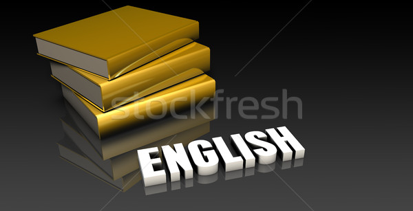 English Stock photo © kentoh