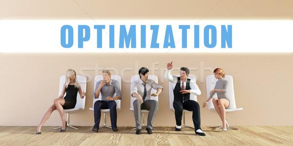 Business Optimization Stock photo © kentoh