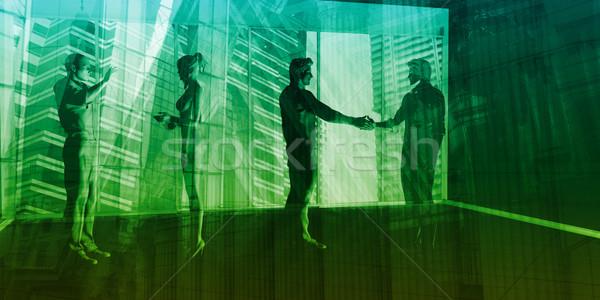 Corporate Background Stock photo © kentoh