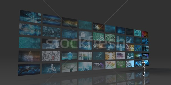 Advertising Network Stock photo © kentoh