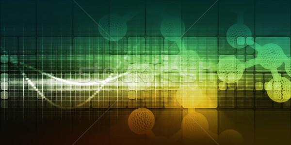 Orvostudomány kutatás fejlesztés absztrakt orvosi technológia Stock fotó © kentoh