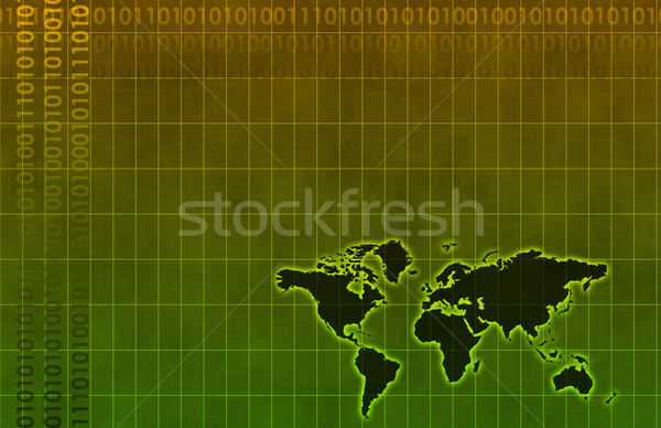Business Technology Abstract Stock photo © kentoh