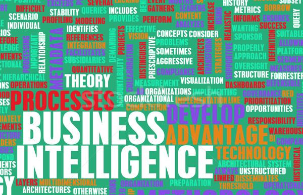 ビジネス インテリジェンス 分析論 データ 芸術 抽象的な ストックフォト © kentoh