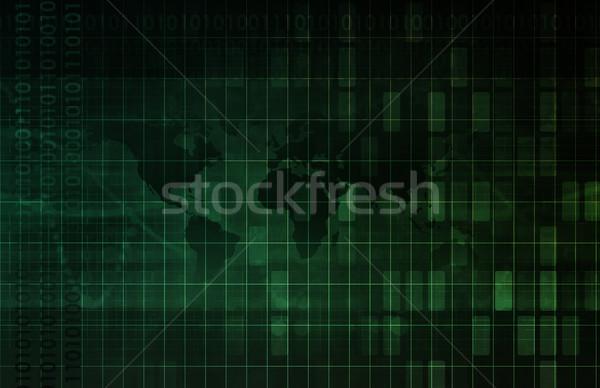 Information Systems Stock photo © kentoh