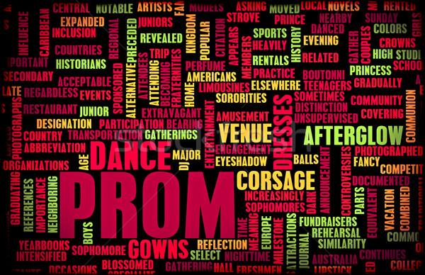 Prom Stock photo © kentoh