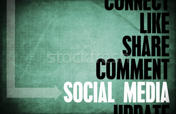 Social Media Stock photo © kentoh