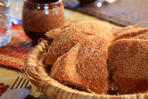 Moroccan Bread Stock photo © kentoh