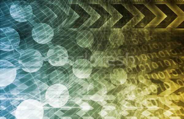 Médico dna ciência abstrato arte luz Foto stock © kentoh