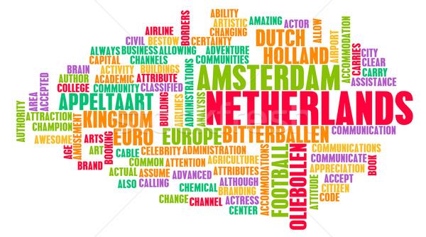 オランダ 国 抽象的な 芸術 ビジネス 食品 ストックフォト © kentoh