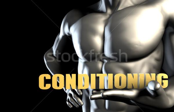 Conditioning Stock photo © kentoh