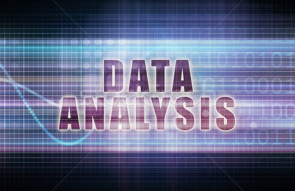 Data Analysis Stock photo © kentoh