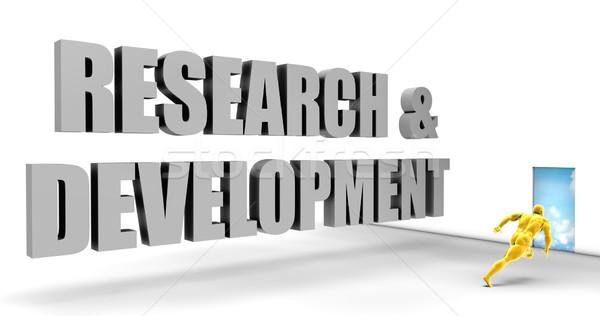 Araştırma gelişme hızlı izlemek doğrudan hızlı Stok fotoğraf © kentoh