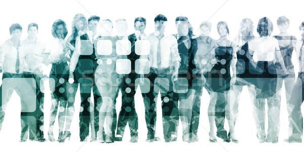 Stock photo: Developing Workforce