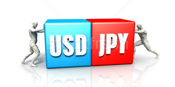 USD JPY Currency Pair Stock photo © kentoh