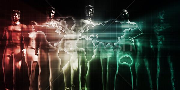 Globalization Stock photo © kentoh