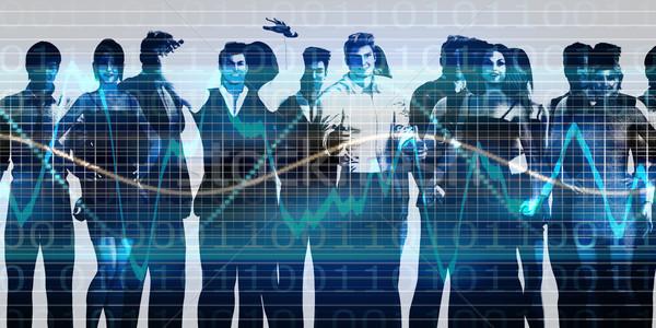 Team geest business team missie business gebouw Stockfoto © kentoh