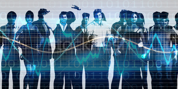 команда дух бизнес-команды миссия бизнеса здании Сток-фото © kentoh