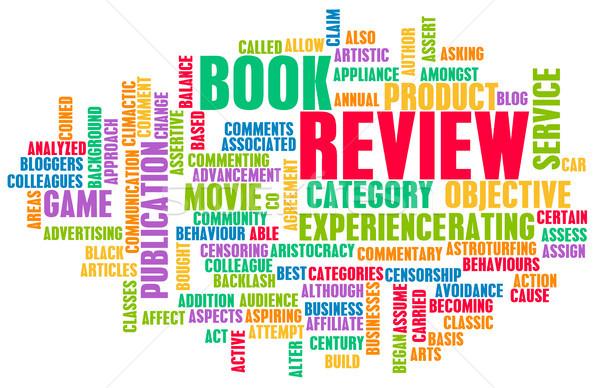 Book Review Stock photo © kentoh