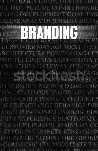 Branding Stock photo © kentoh