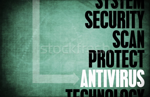 Antivirus Stock photo © kentoh