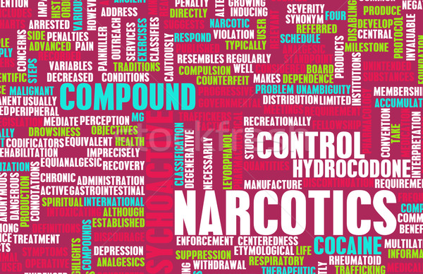 Drogas arte médicos ley delincuencia Foto stock © kentoh