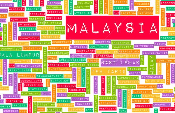 Malaysia Stock photo © kentoh
