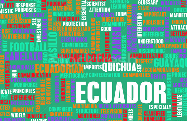 Ecuador Stock photo © kentoh