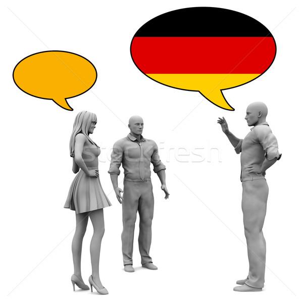 Learn German Stock photo © kentoh
