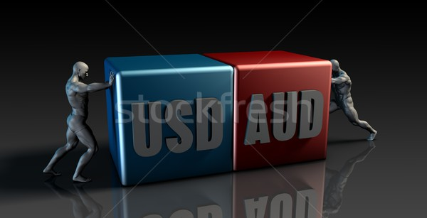 USD AUD Currency Pair Stock photo © kentoh