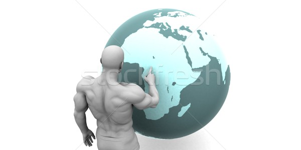 Business Expansion into Africa Stock photo © kentoh