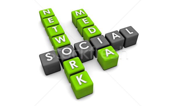 Social Media Network Stock photo © kentoh
